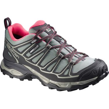 Salomon Damen X Ultra Prime CS WP Schuhe light tt-asphalt-hot pink UK 4