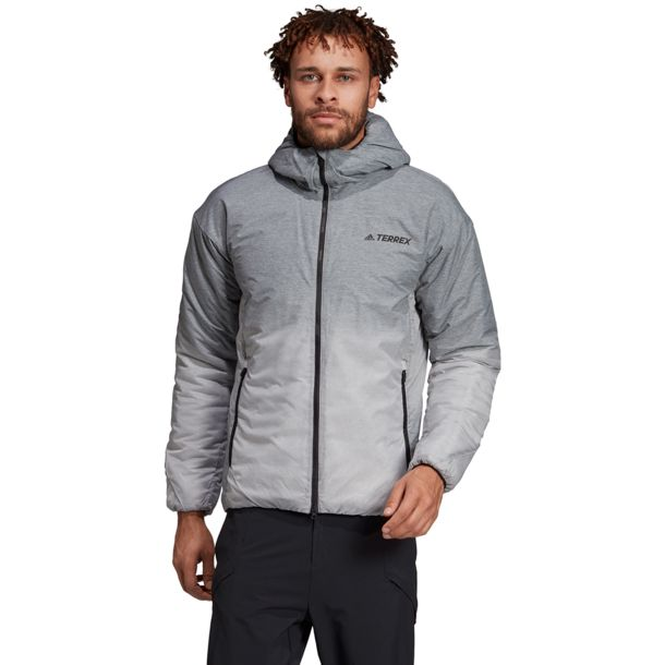 Herren Windweave Ins Jacke grey four S