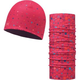 Buff Kinder Microfiber & Polar Hat + Original Buff Set
