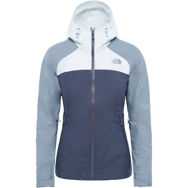 meet 1128a a820c Damen Stratos Jacke vanadis grey L