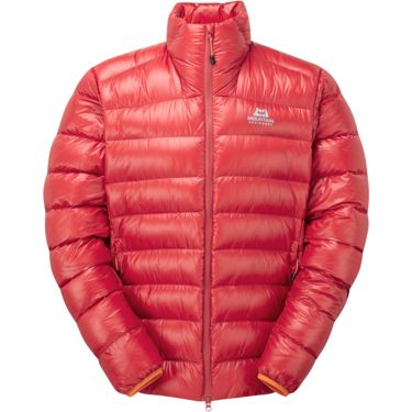 Mountain Equipment Men's Dewline Jacket minium / russet zips S