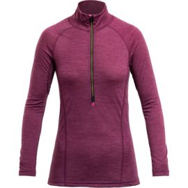 Devold Damen Running Zip Neck Longsleeve