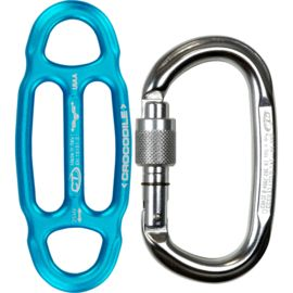 Climbing Technology Crocodile Kit Abseilgerät