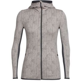 Icebreaker Damen Away Zip Hood Showers Jacke