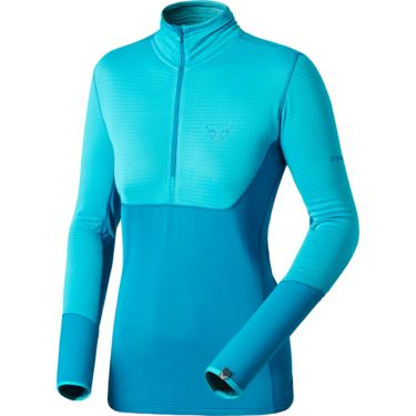 Dynafit Women's TLT PTC 1/2 Zip Long Sleeve ocean 40