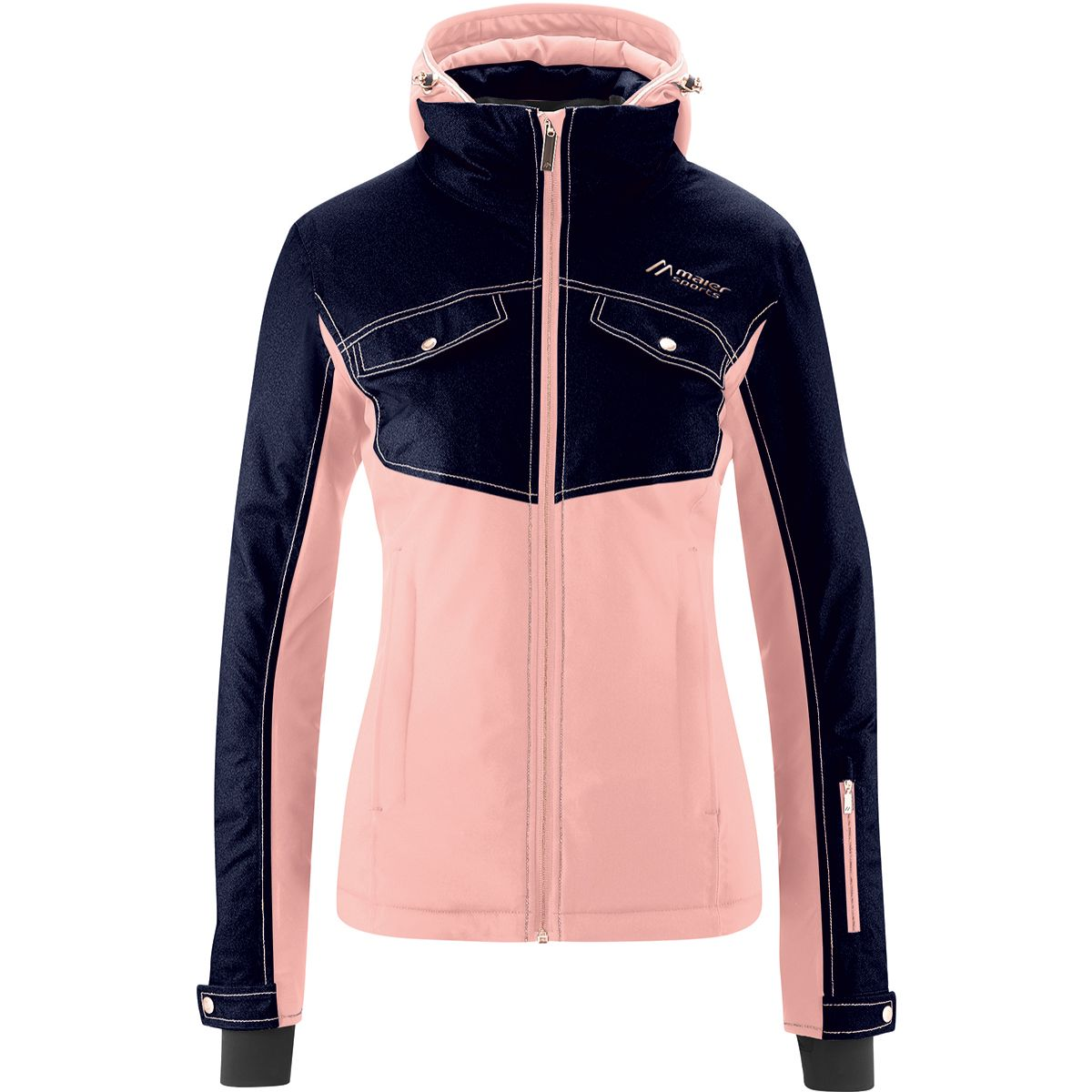Maier Sports Damen Statement Piece Jacke (Größe L, M, Pink) | Skijacken > Damen