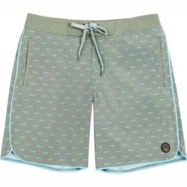 United by Blue Men's Longbow Scallop Boardshorts