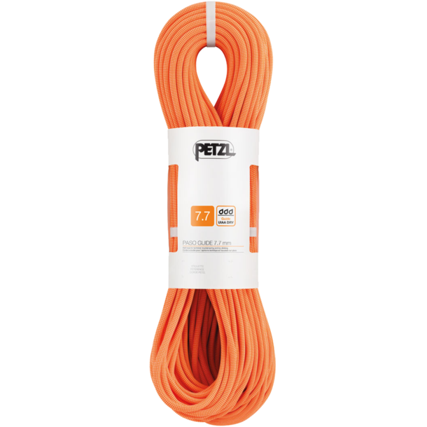 Petzl Paso Guide 7.7 Halbseil orange 70m