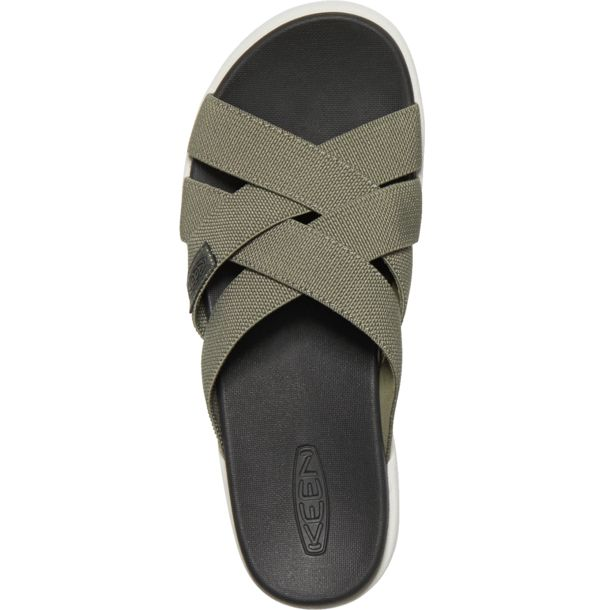 Keen Damen Elle Slide Sandale dusty olive US 7.5