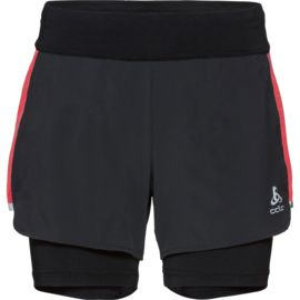 Odlo Damen Zeroweight Ceramicool 2in1 Shorts