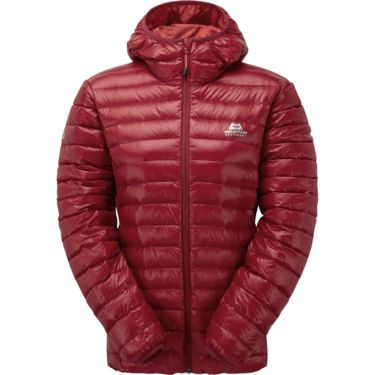 Mountain Equipment Damen Arete Hooded Jacke sangria 8