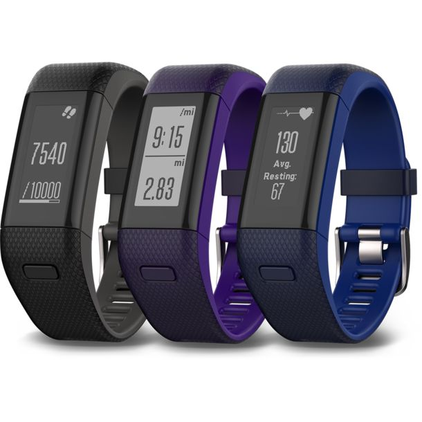 garmin vivosmart hr gps uhr violett regular kaufen im. Black Bedroom Furniture Sets. Home Design Ideas