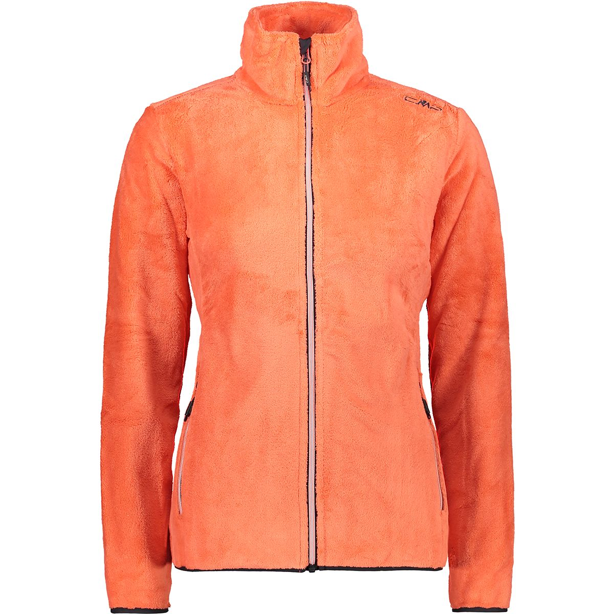 CMP Damen Highloft Jacke (Größe M, Orange) | Fleecejacken > Damen