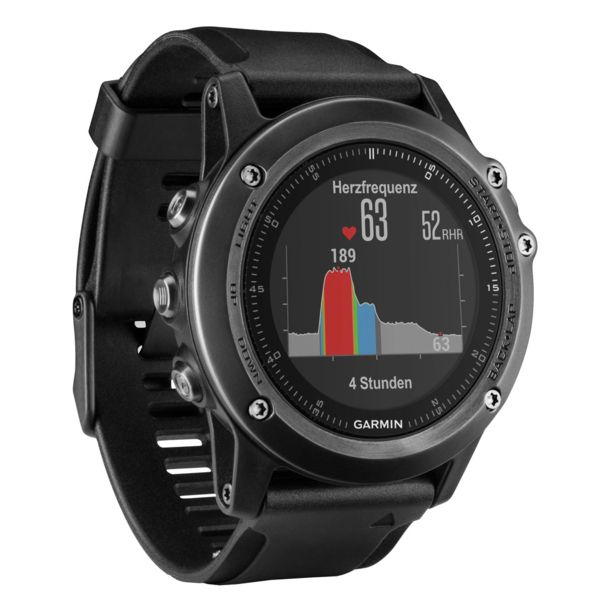 garmin fenix 3 hr saphir grau gps uhr kaufen im bergzeit shop. Black Bedroom Furniture Sets. Home Design Ideas
