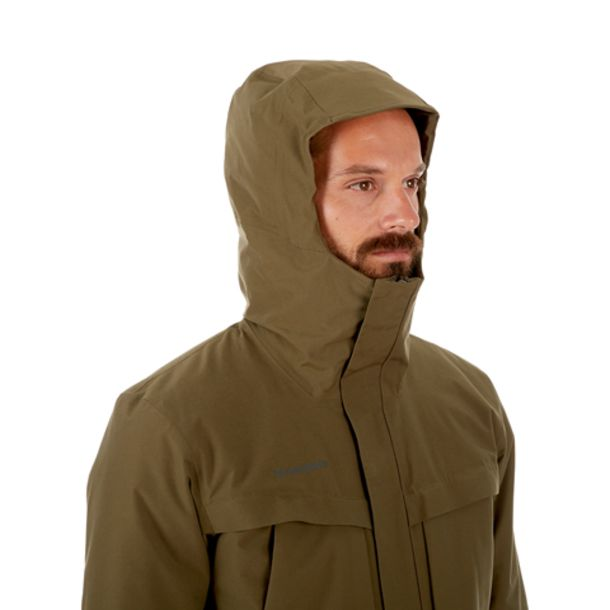huge selection of aae1c 80dcc Herren Chamuera HS Thermo Hooded Parka iguana S