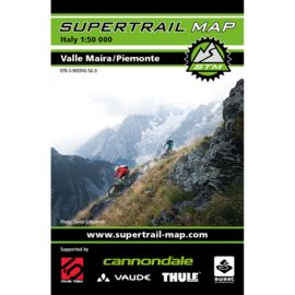 Supertrail Map Valle Maira/Piemonte - MTB