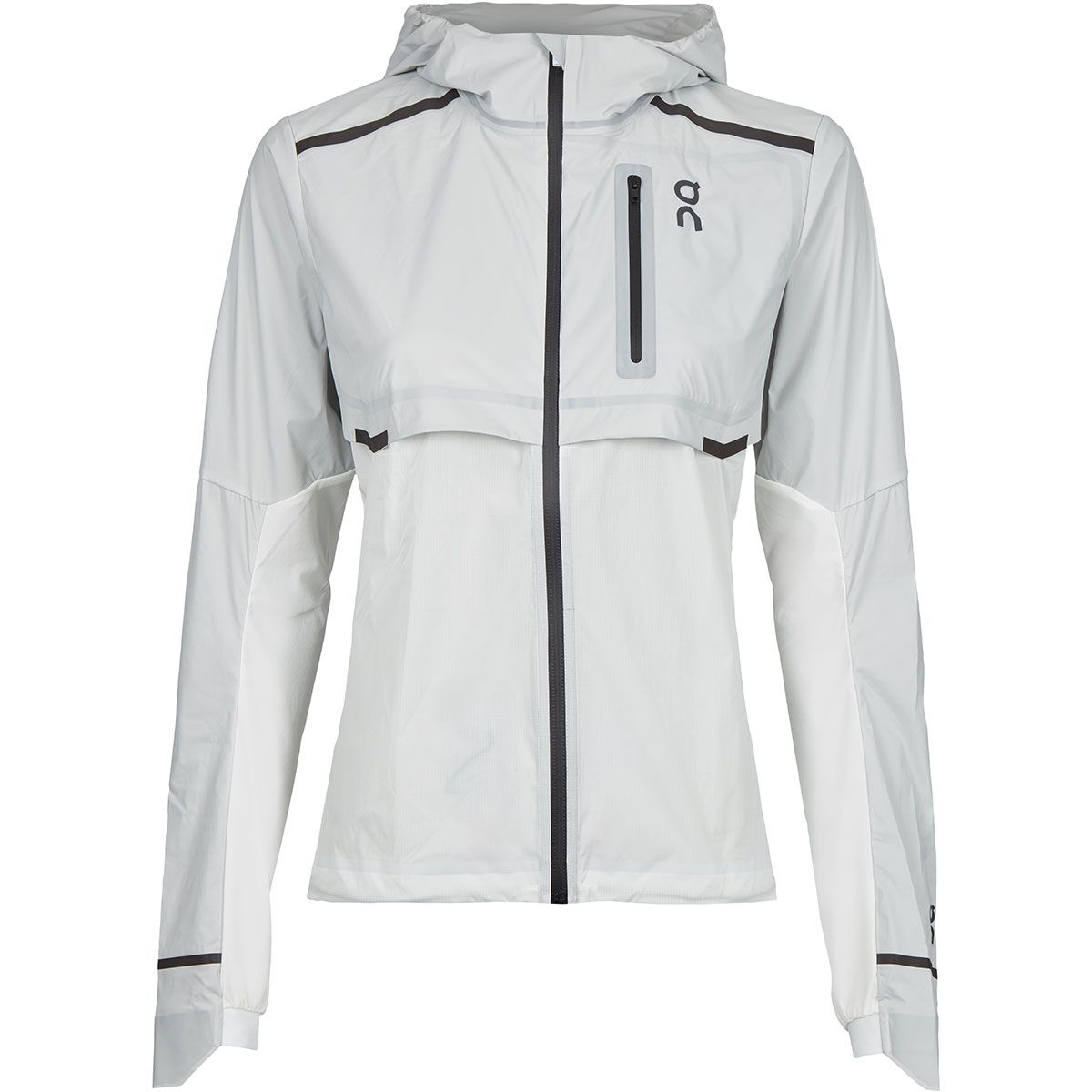 ON Running Damen Weather Jacke (Größe XS, Weiß) | Windbreaker > Damen