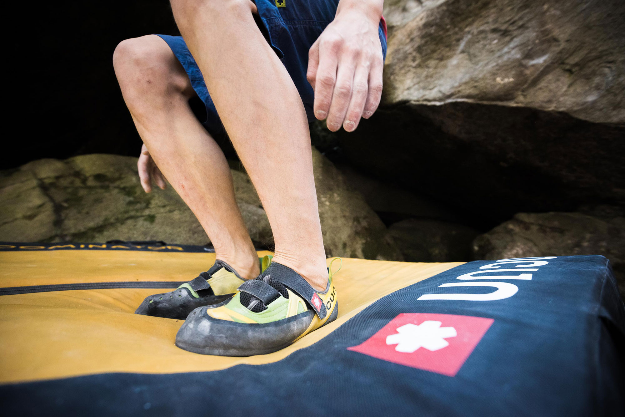 Ocun Klettergurt Test : Ocun paddy dominator crashpad im test