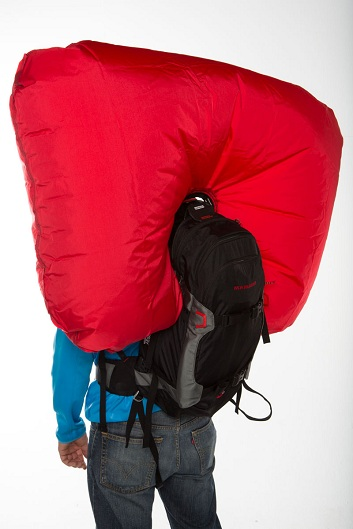 Avalanche airbag pack - Mammut Ride Airbag RAS 301