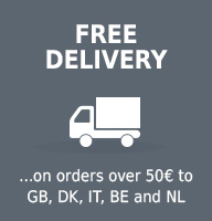 Free delivery to GB,IT,DK,NL