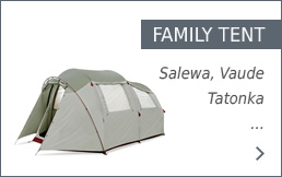 Buy family tents secure and conveniently at bergzeit