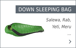 Buy down sleeping bags secure and conveniently at bergzeit