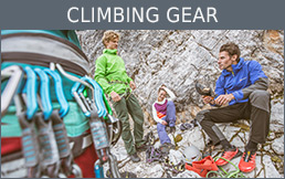 Buy Climbing gear secure and conveniently at Bergzeit