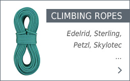 Climbing Ropes in the Bergzeit shop