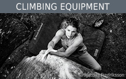 Black Diamond climbing equipment at Bergzeit