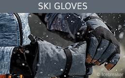 Buy ski gloves secure and conveniently at Bergzeit