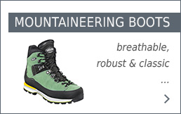 Meindl Mountaineering boots at Bergzeit