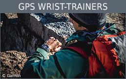 Buy GPS wrist-trainers secure and conveniently at Bergzeit