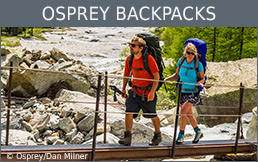 Buy Osprey backpacks secure and conveniently at Bergzeit