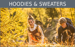 Buy Hoodies & Sweaters secure and conveniently at Bergzeit