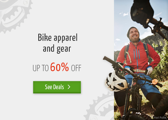 Bergzeit Bikesale - Bike apparel and gear - up to 60% off