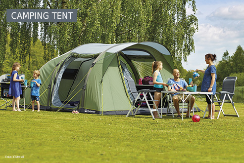 Buy camping tents secure and conveniently at bergzeit