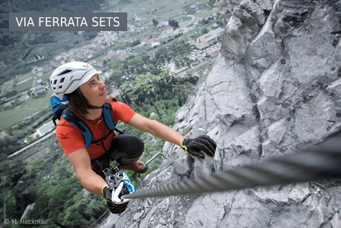 Buy Via Ferrata Sets secure and conveniently at Berzeit