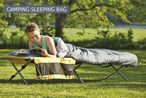 Buy camping sleeping bags secure and conveniently at bergzeit