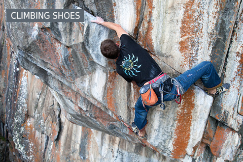 Buy Climbing shoes secure and conveniently at Bergzeit