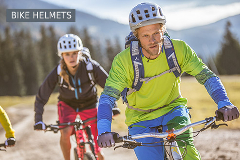 Buy Bike helmets secure and conveniently at Bergzeit