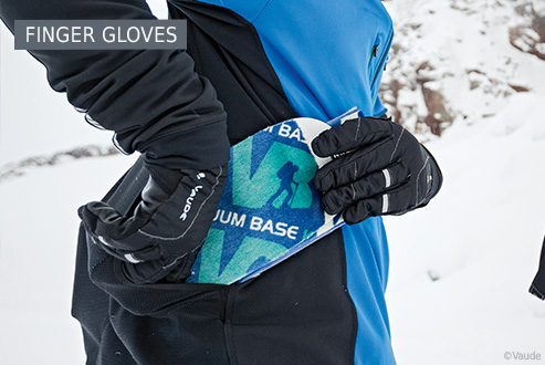 Buy finger gloves secure and conveniently at Bergzeit