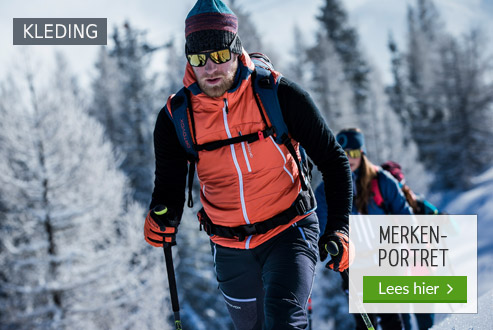 Ortovox Mountainwear in de Bergzeit shop