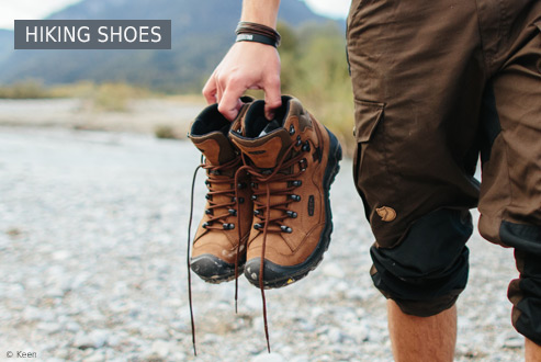 Buy Hiking shoes secure and conveniently at Bergzeit