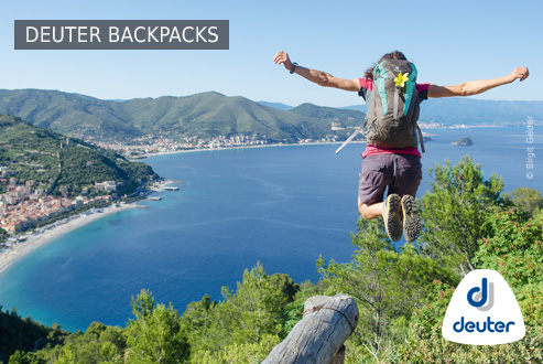 Buy Deuter Backpacks secure and conveniently at Bergzeit