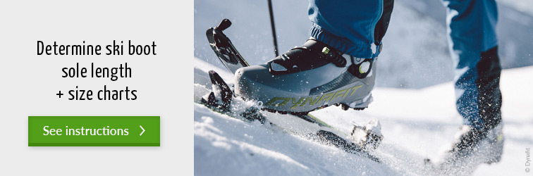 Where do I find the sole length for my ski boots? - Read more at the Bergzeit Journal