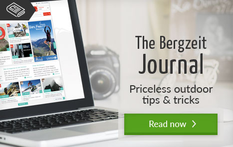 Bergzeit Journal - priceless outdoor tips and tricks
