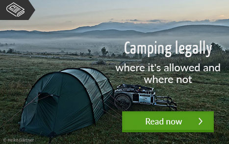 Camping legally - where it's allowed and where not