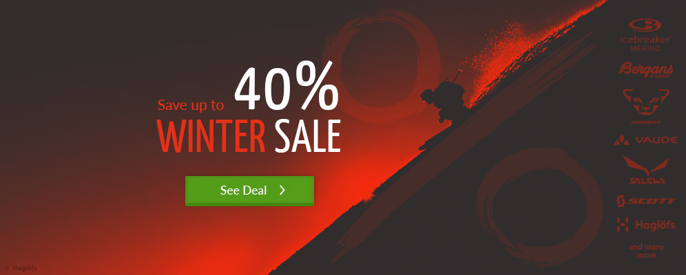 Winter Sale – Save up to 40% off