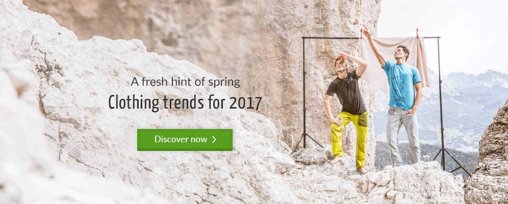 A fresh hint of spring - Clothing trends for 2017