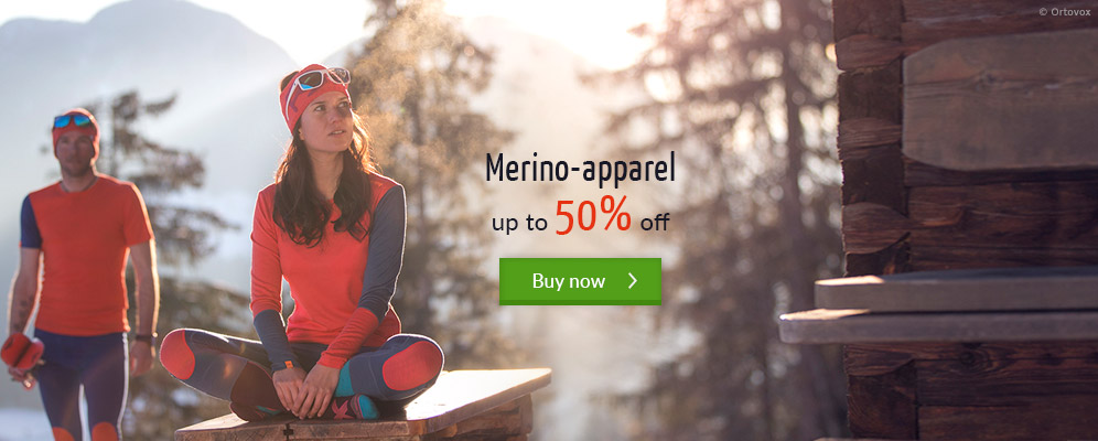 Merino-apparel - up to 50% off